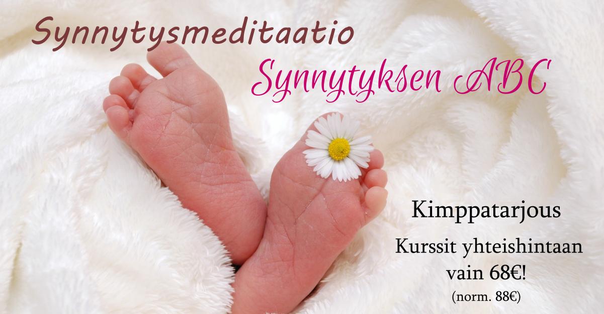 kimppa synnytyksen abc ja synnytysmeditaatio