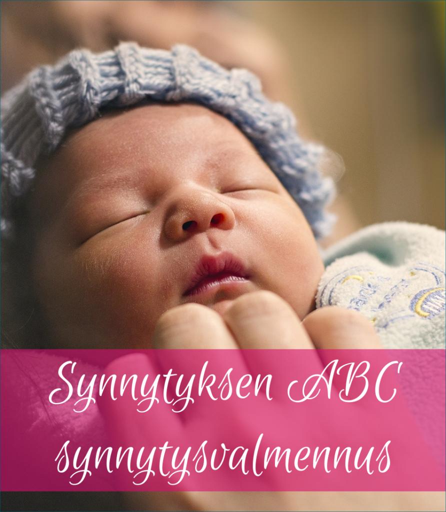 Synnytyksen ABC synnytysvalmennus vauva pidempi