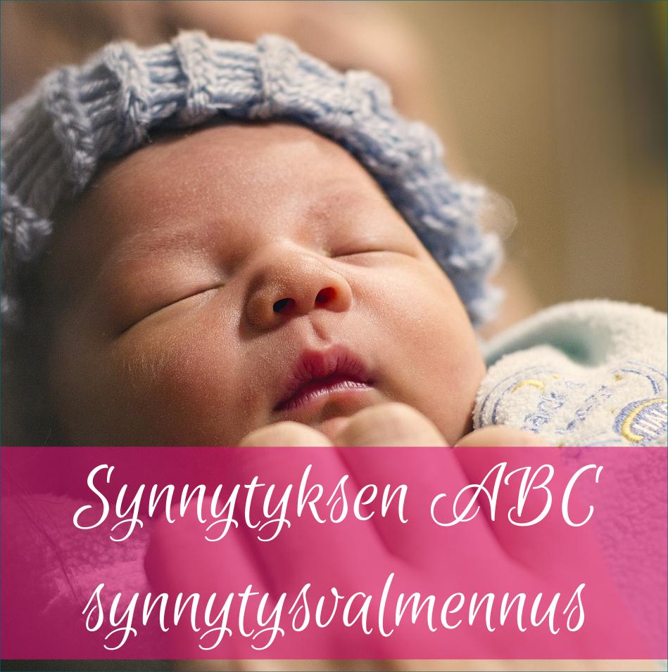 Synnytyksen ABC synnytysvalmennus vauva