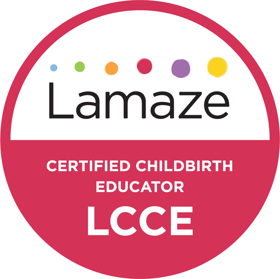 LCCE Marjaana Siivola Lamaze Certified Childbirth Educator